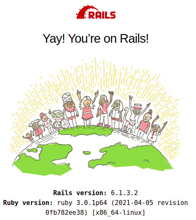 rails app